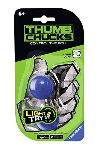 AmazonDeaccessory-Ravensburger-Thumb-Chucks Ravensburger 21384 Thumb Chucks, Blau -