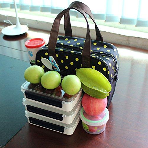 Coosin borsetta termica borsa pranzo con grande capacit¨¤ per campeggio suola e uf?cio