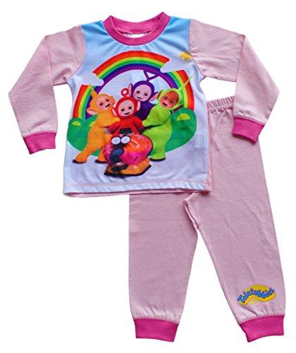 Preisvergleich Produktbild ThePyjamaFactory Mädchen Schlafanzug rosa rose 3 Jahre Gr. 18-24 Monate, rose