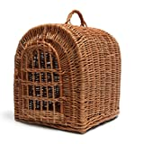 Prestige Wicker Pet Carrier Basket, Large
