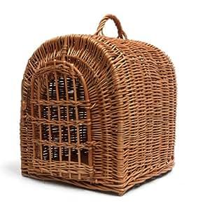 prestige wicker panier de transport pour chien taille l animalerie. Black Bedroom Furniture Sets. Home Design Ideas
