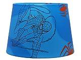 Spiderman Abat-jour ou Abat-jour de suspension Marvel Avengers Comic pour chambre de garçon Accessoires cadeaux Superhero 9.5double usage