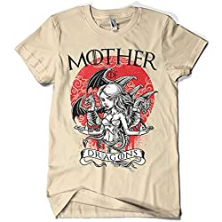 1500-Camiseta Game Of Thrones - Mother of Dragons (Arena, XL)