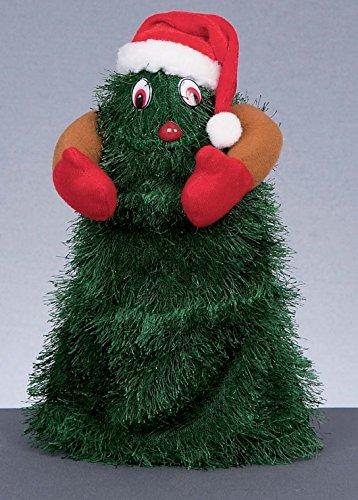 Navidad decoraciones XmasTree funciona con pilas Dancing árbol de Navidad, 30cm