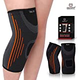 OxOFit Men's and Women's Knee Brace for Pain Relief Compression Sleeve Support