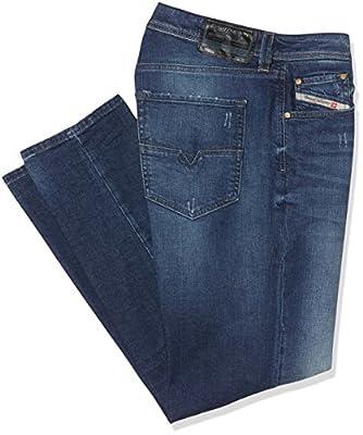 Diesel Men's Larkee-Beex L.30 Pantaloni Tapered Fit Jeans