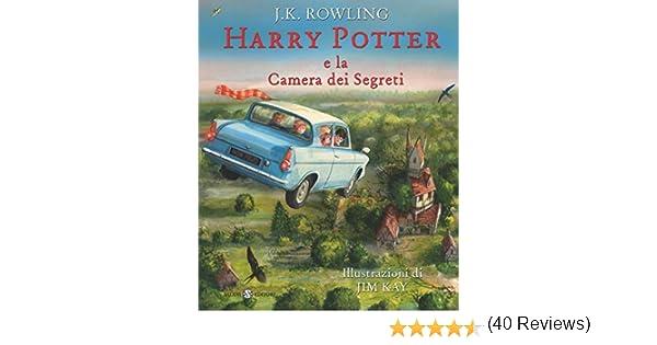 Harry Potter Camera Segreti Illustrato : Amazon harry potter e la camera dei segreti ediz illustrata