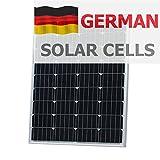 100W Photonic Universe Solar Panel aus deutschen Solar Zellen, für ein Wohnmobil, Wohnmobil, Wohnwagen, Boot, Yacht oder für andere Fahrzeug oder marine Anwendung, oder ein netzferne Solar Power System (100Watt), optimale Wahl für Laden eines 12V Akku