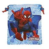 PERLETTI Saco Lonchera Niño Marvel Spiderman - Bolsita escolar porta alimientos con estampado el...