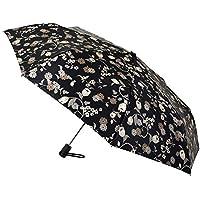 Funcionalidad y Elegancia se unen en Este Paraguas Vogue Abre y Cierra automático Sofisticado satén Estampado