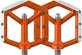 Spank Spike Flat Pedal 2016, orange, One Size