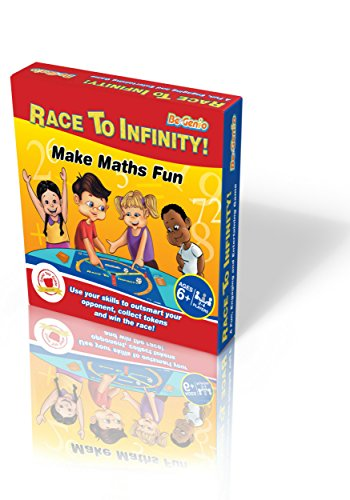 Fun Maths Board Game – RACE TO INFINITY™.