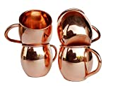 Best Moscow Mule Mugs - Pure Copper Barrel Mug for Moscow Mules Review