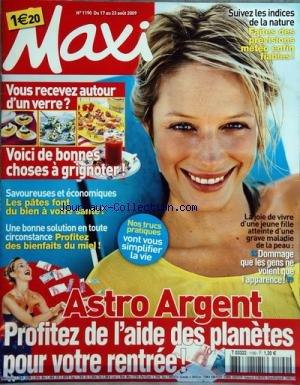 MAXI [No 1190] du 17/08/2009 - astro arg...