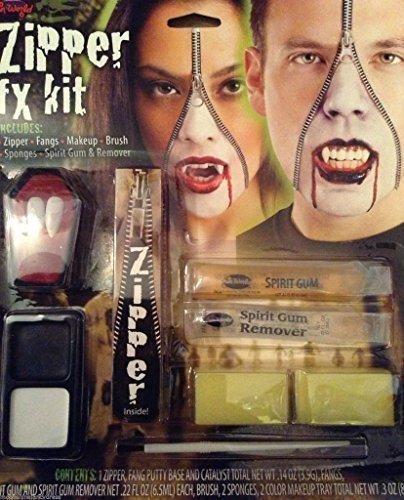 Zipper Fx Kit Halloween Party Makeup Gesichtsfarbe (Zipper Fx Makeup Kit)