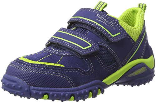 Superfit Jungen SPORT4 Sneaker, Blau (Nautic Kombi), 35 EU