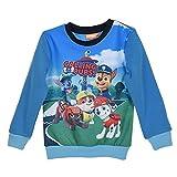 Paw Patrol Jungen Sweatshirt Pullover (116 (6 Jahre), Blau)