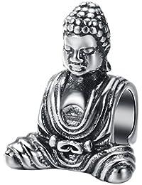 "CHANGEABLE Damen-Charm Sterling-Silber 925""Buddha"