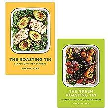 Roasting tin, green roasting tin 2 books collection set