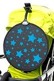 My Buggy Buddy Ombrelle étoiles (Bleu)