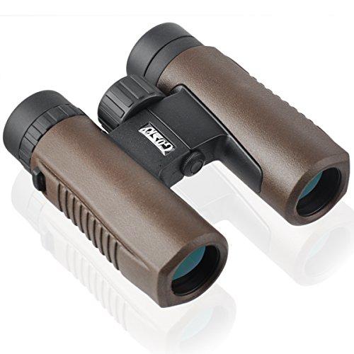 Gosky Fernglas Smartphone Adapter Kit für Erwachsene und Kinder-für die Vogelbeobachtung Reisen Landschaft sternegucken Jagd Konzert Sport Outdoor Games- Bak-4Prism/multivergütete Objektiv, 10x26 (Mobile Htc Deckt)
