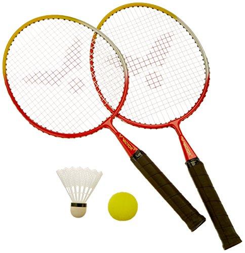 VICTOR Kinder BadmintonSchläger MiniSet