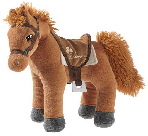 Bibi & Tina 637771 Plüschtier, Pferd, braun (Für Pferd Pferde Spielzeug)