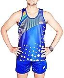 Enrobe Men's Cotton Lycra Athletic Sando and Shorts Combo (Multicolour, XL)