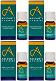 (4 PACK) - Absolute Aromas - Frankincense Oil | 5ml | 4 PACK BUNDLE
