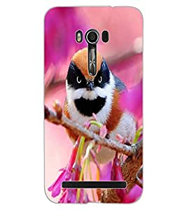 ColourCraft Beautiful Bird Design Back Case Cover for ASUS ZENFONE GO