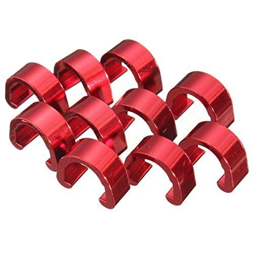 C - clips hebillas - TOOGOO(R)10pcs C-Clip Tubos Chasquido Freno Manguera Guia...