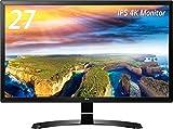 LG 27UD58 27Zoll 4K Ultra HD IPS Schwarz Computerbildschirm - Computerbildschirme (3840 x 2160 Pixel, LED, 4K Ultra HD, IPS, 3840 x 2160, Mega-Kontrast)