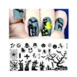 Born Pretty Plaque De Stamping Ongles Nail Art Halloween Image Plate BP-L031 12.5 x 6.5cm