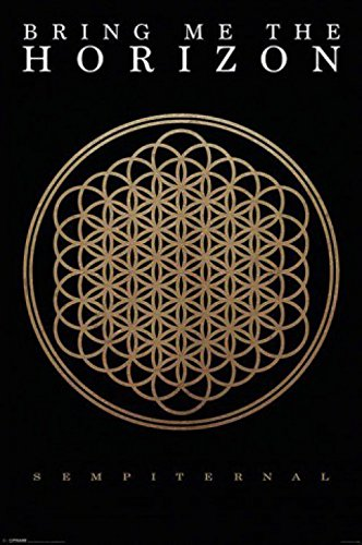 "1art1 67075 - Poster band musicale ""Bring Me The Horizon - Sempiternal"", 91 x 61 cm"