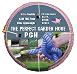 """Tuff-Guard The Perfect Garden Hose, Kink Proof Garden Hose Assembly, Pink, 5/8"""" Male"""
