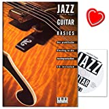 Jazz Guitar Basics-La pratique Lancer dans l'École de guitare jazz Improvisation-de Joachim Oiseaux avec CD et cœur Note Pince