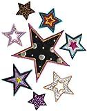 Simplicity verschiedene Sterneapplikationen zum Aufbügeln