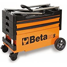 Beta herramientas C27S Plegable Carro de herramientas (–negro/naranja