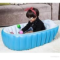 LUHI Baby Bath Tubs with Cushion Central Seat European Standard Inflatable Baby Bath Tub with Pump