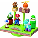 NEW Super Mario Bros. Wii Balance the Ground Stage World (japan import)