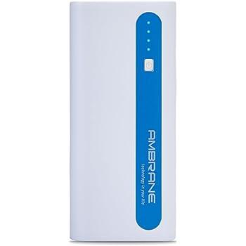 Ambrane P-1310 13000mAH Power Bank (White-Blue)