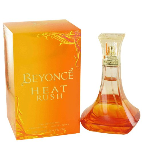 Beyonce Heat Rush Perfume for Women 3.3 oz Eau De Toilette Spray