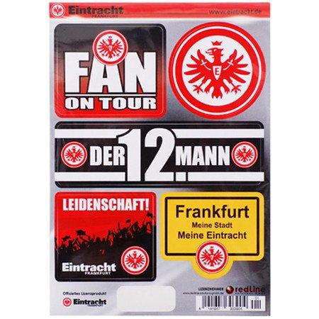 Eintracht Frankfurt coller sur les cartes format DIN A5