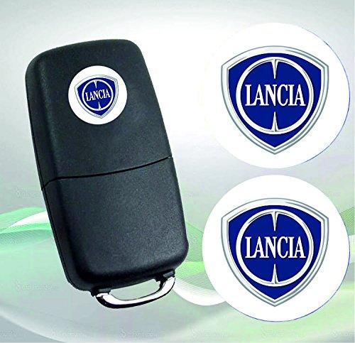 lancia-emblem-logo-schlussel-fernbedienung-set-satz-14mm-2stuck
