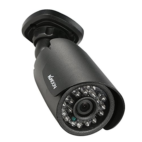 KKmoon CCTV-Kamera 1080P AHD Gewehrkugel-Wasserdichte 2.0MP 1/2.8
