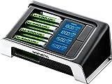 Varta LCD Ultra Fast Ladegerät (geeignet für bis zu 4 AA/AAA inkl. 4x AA 2400 mAh) schwarz