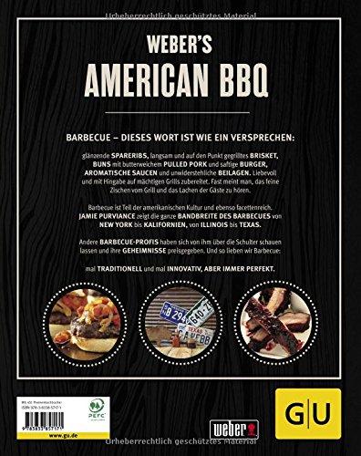 51amnrQuVnL - Weber's American BBQ: Ein kulinarischer Roadtrip durch die USA (GU Weber's Grillen)