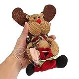 VIDOO Weihnachts-Süßigkeiten-Tasche Baum Dekor Ornamente Xmas Dekor Santa Claus Snowman Rentier-#1