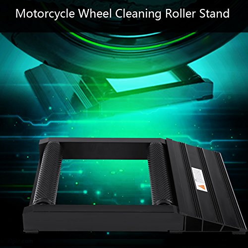 supporto per la pulizia della ruota utensile per pulire la catena Ruota posteriore girevole ruota posteriore moto