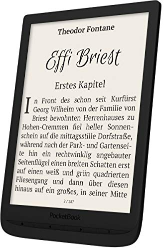 PocketBook e-Book Reader 'InkPad 3' (8 GB Speicher; 19,8 cm (7,8 Zoll) E-Ink Carta Display; SMARTlight; Wi-Fi) in Black